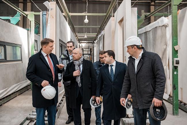 Замглавы Минстроя России посетил производство «ТАМАК»