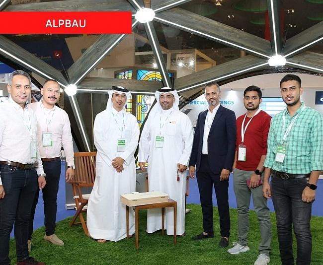 Alpbau получил награду засамый инновационный стенд навыставке вКатаре