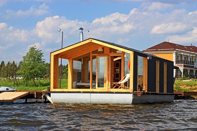 ВРоссии начнут строить плавучие дома