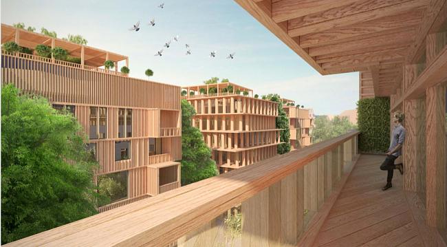 Первые многоэтажные деревянные дома встране могут появиться вЧереповце
